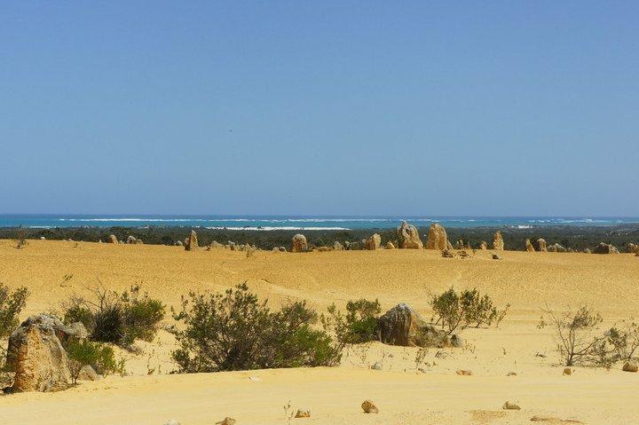 désert australie roches calcaires