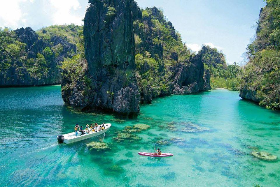 Les iles Palawan aux Philippines