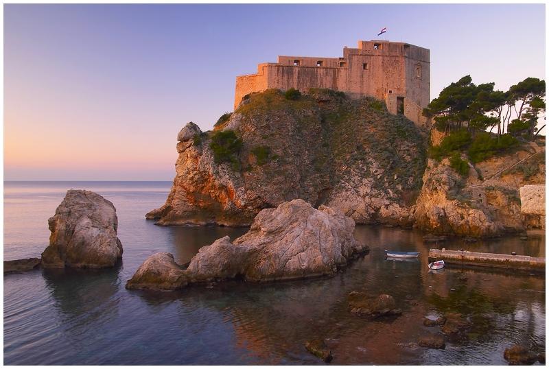 La forteresse de Lovrijenac