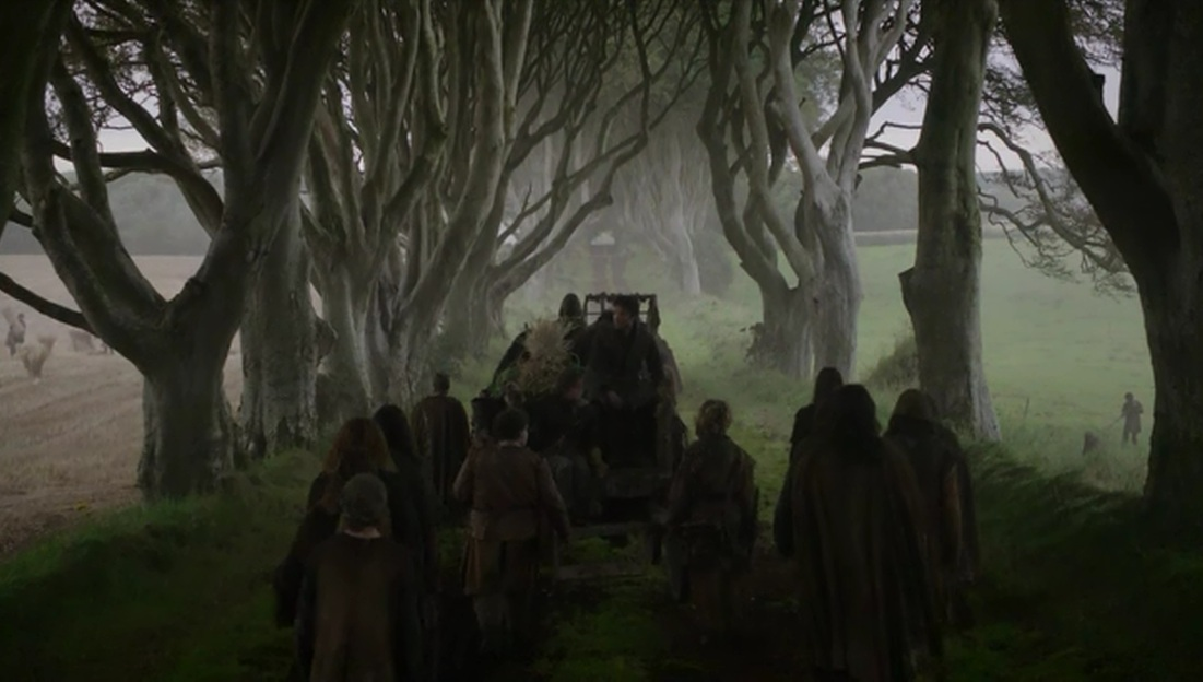 game of thrones route vers port réal