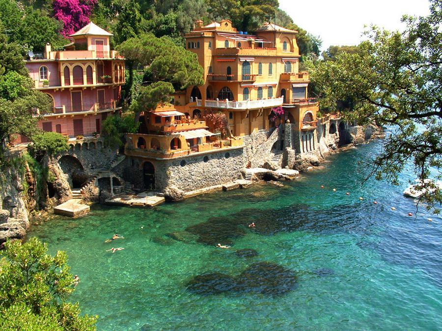 portofino en italie - un endroit romantique