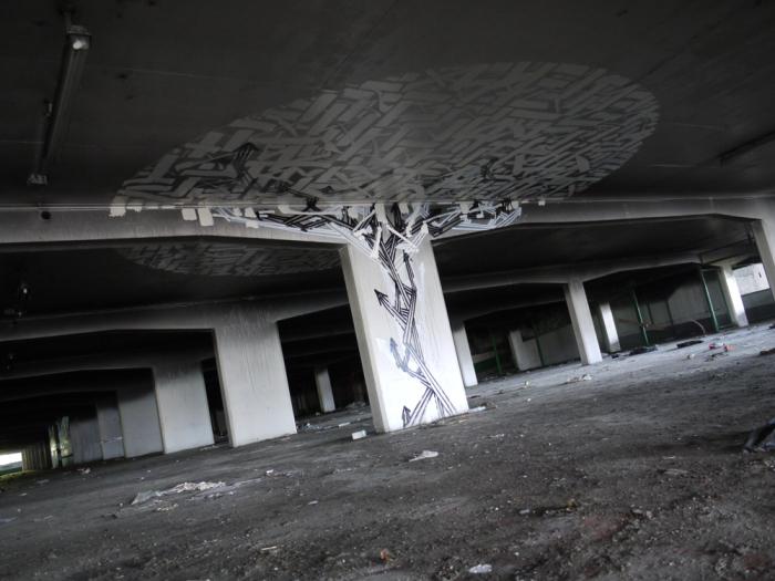 lieu abandonné paris : le mausolée