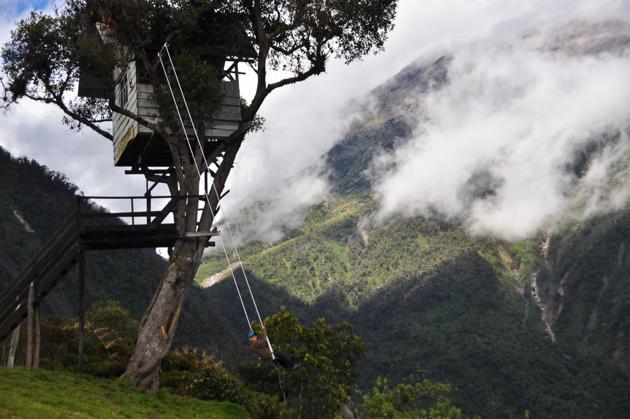 La-balançoire-au-bout-du-monde-a-Banos-Equateur