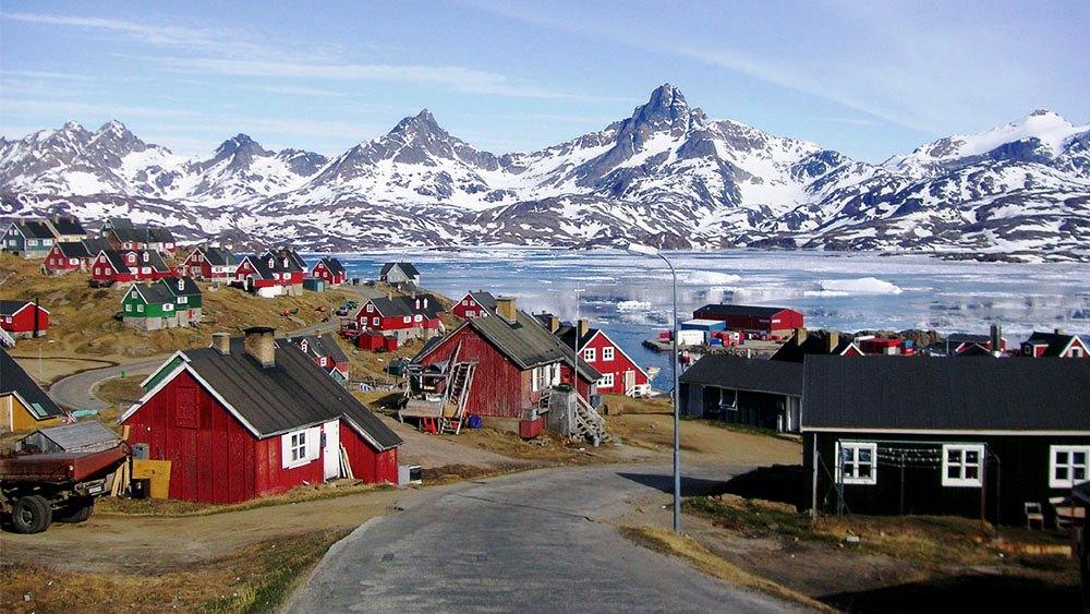 village de kulusuk groenland