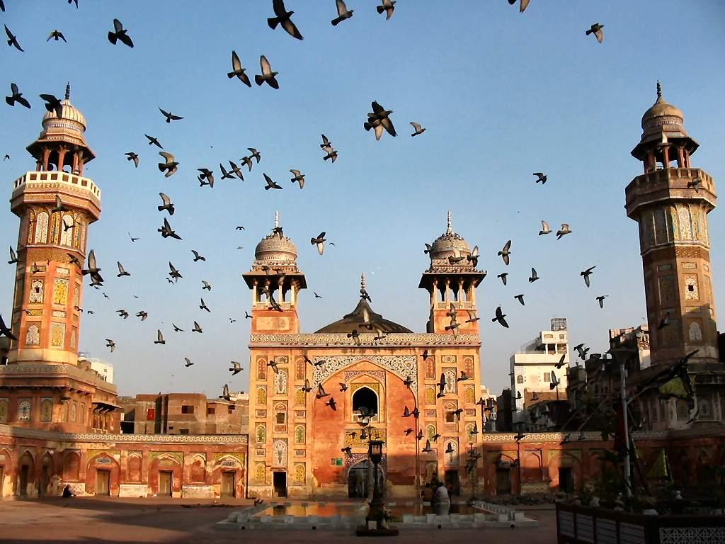 Wazir Khan mosquée