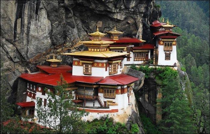 thimphou capitale bhoutan