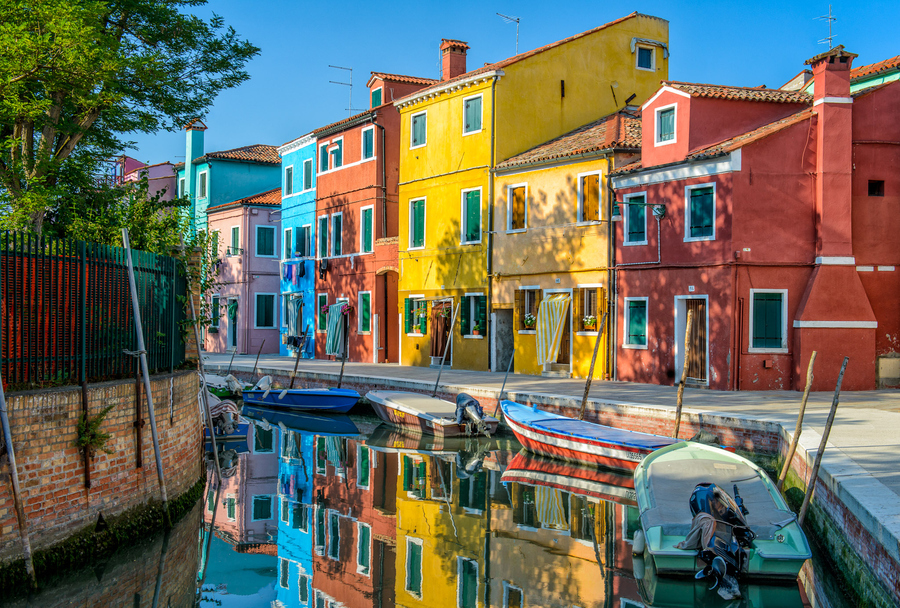 burano plus beau village italie