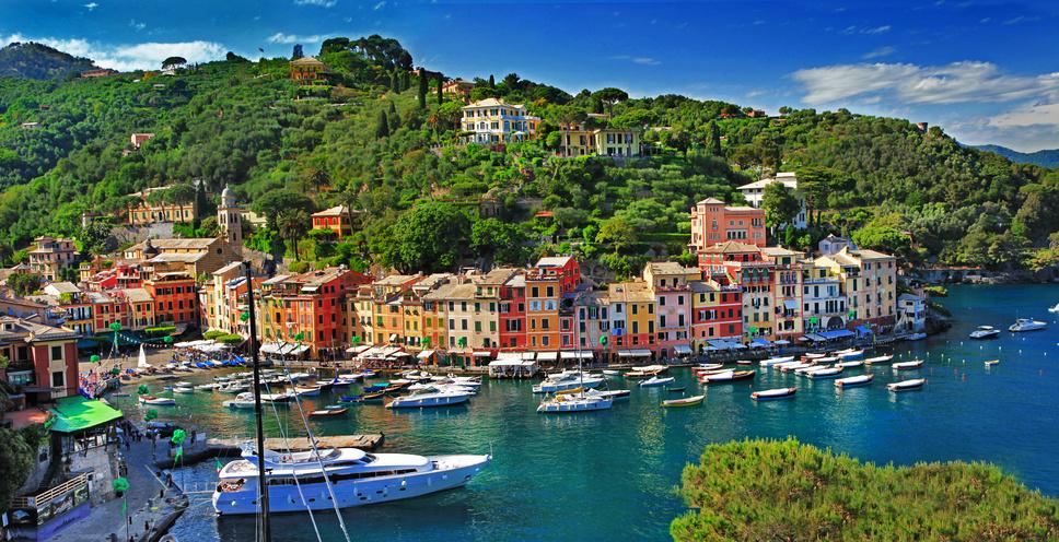 portofino plus beau village italie