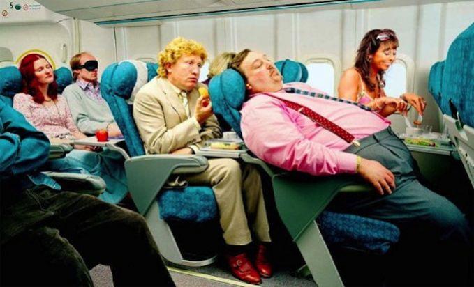 dormir en avion