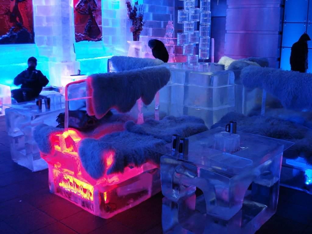 chillout bar de glace dubai