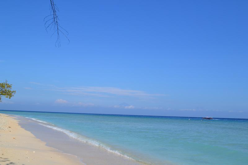 plage deserte gili