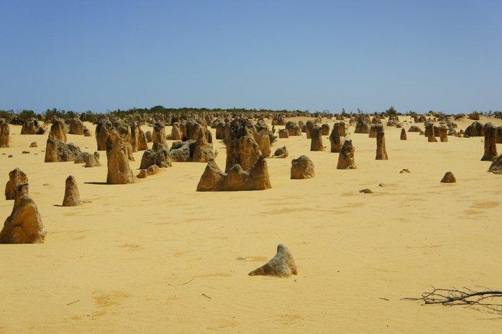 soleil désert australien