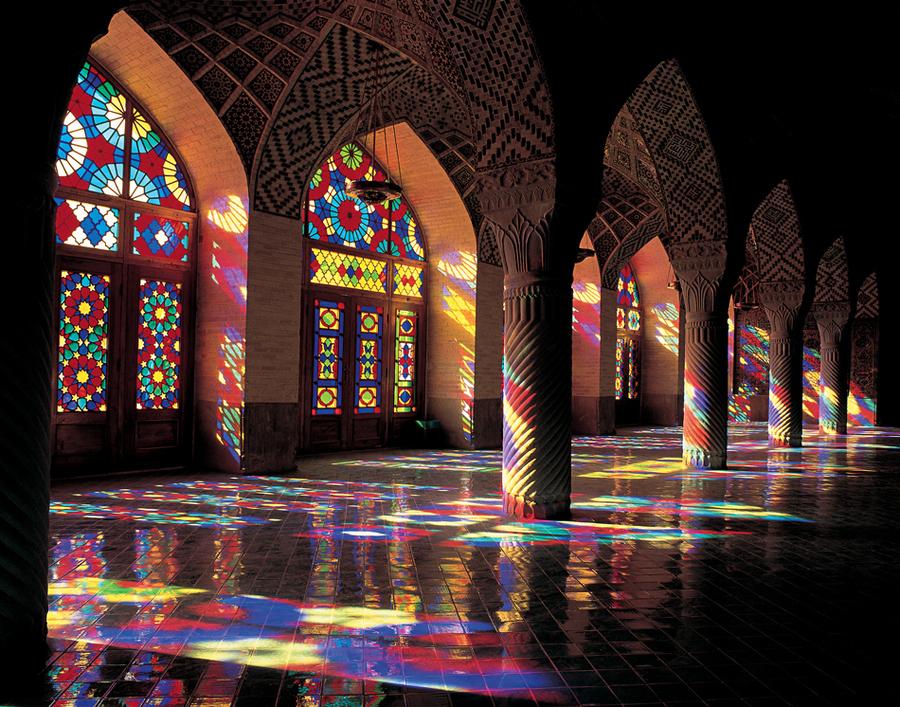 mosquee rose shiraz