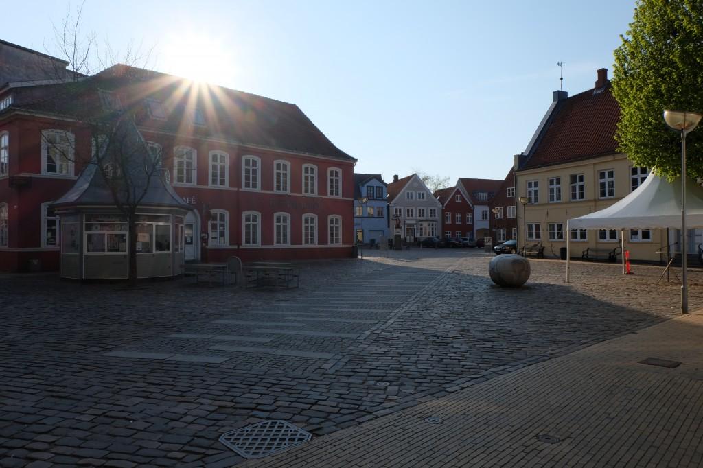 danemark coucher de soleil
