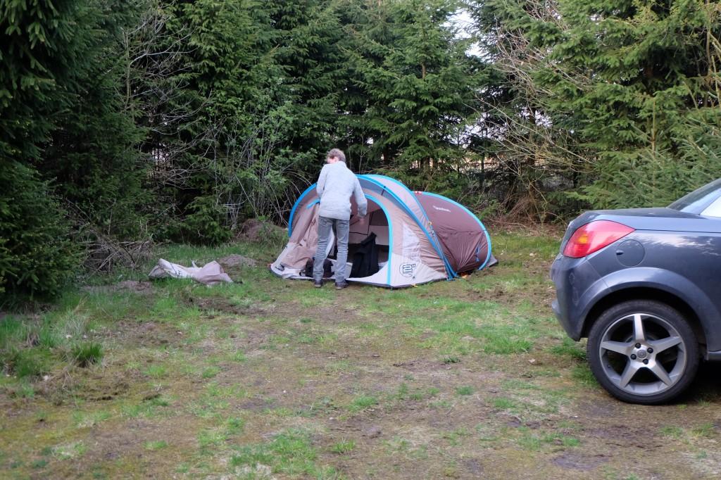 campement au danemark