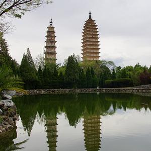 A la découverte du temple des 3 pagodes à Dali, dans le Yunnan