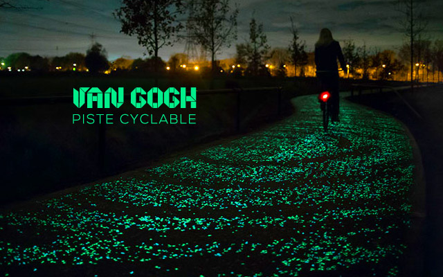 piste cyclable hommage van gogh