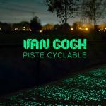piste cyclable lumineuse van gogh