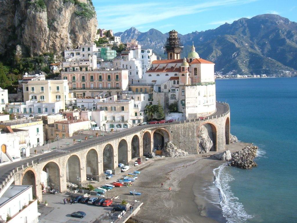 Atrani italie beau village