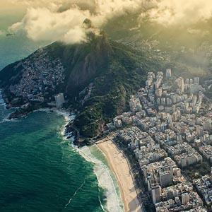 14 lieux touristiques vus du ciel : le monde vu comme un oiseau