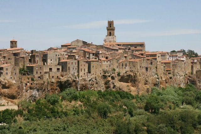 pitigliano plus beau village italien