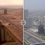 villes avant après