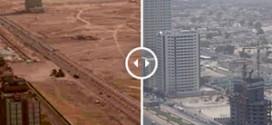 6 villes avant / après : quand l'homme modifie le paysage