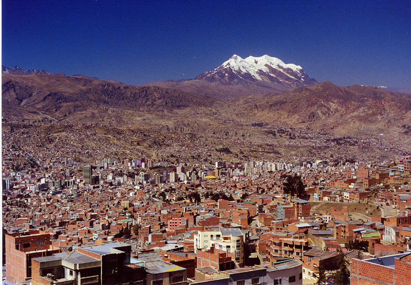 la paz bolivie capitale