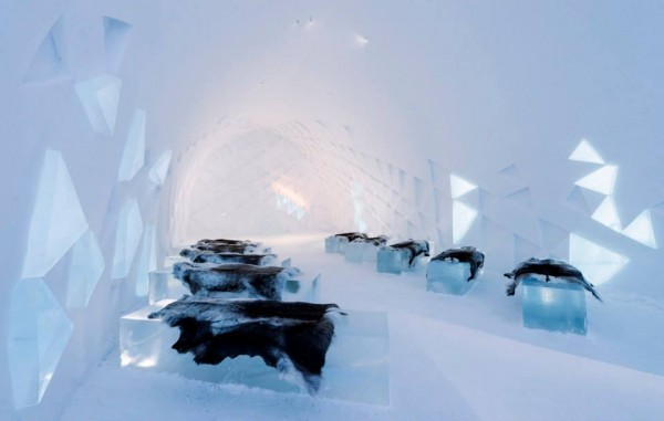 hotel glace ice hotel suede