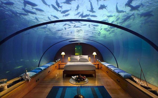 hotel-sous-eau-aquarium-maldives
