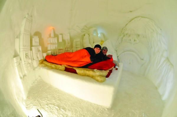 nuit igloo suisse hotel