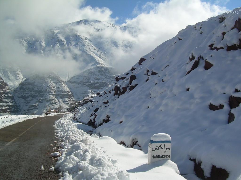 oukaimden ski insolite
