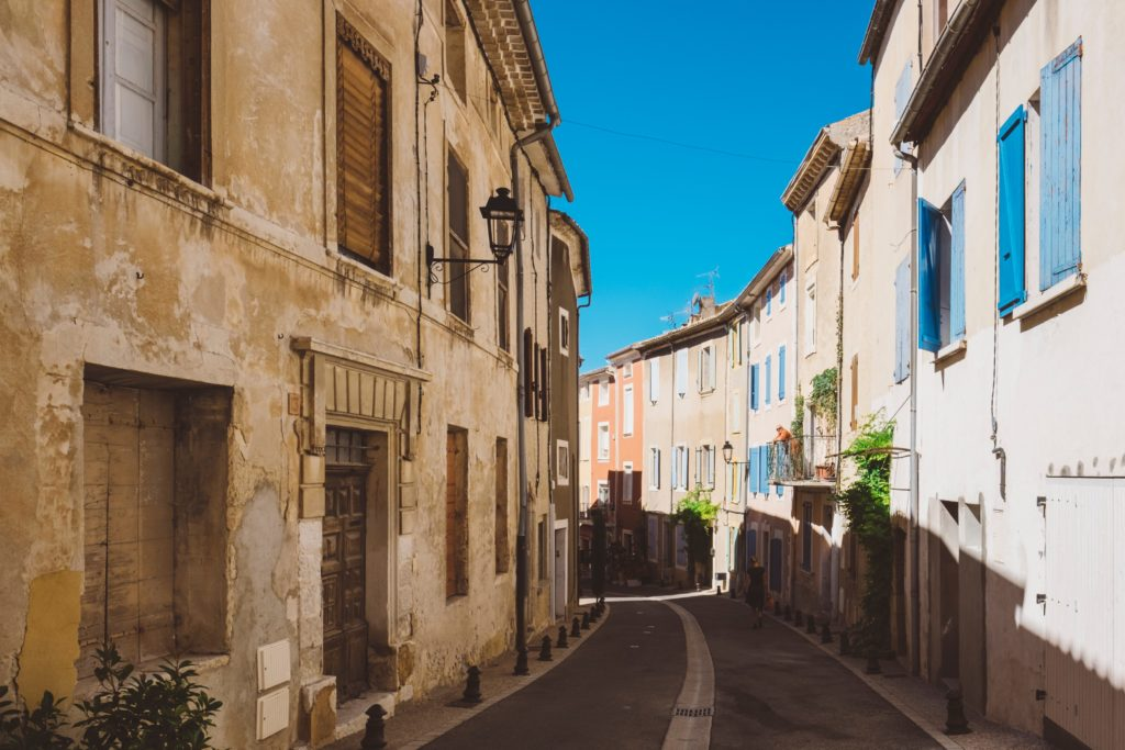 rue provence sud france