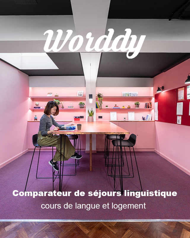 worddy comparateur sejour linguistique